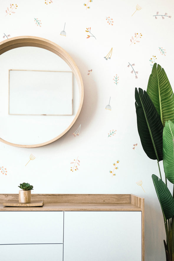 Twigs and Blooms - WALL DECAL