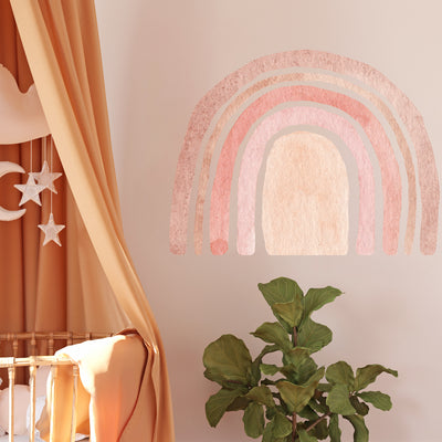 Watercolor Rainbow - Wall Decals