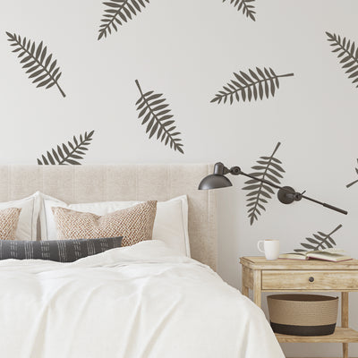 Wide Leaves  - Wall Decals