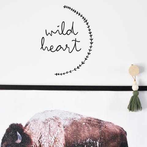 Wild Heart  - WALL DECAL