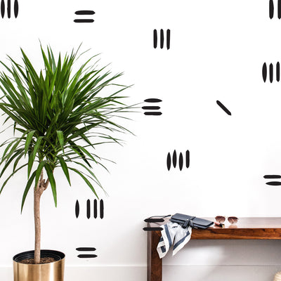 Wonky Stripes - Wall Decals