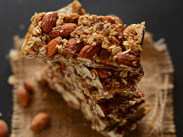 No Bake Healthy Granola Collagen Bar