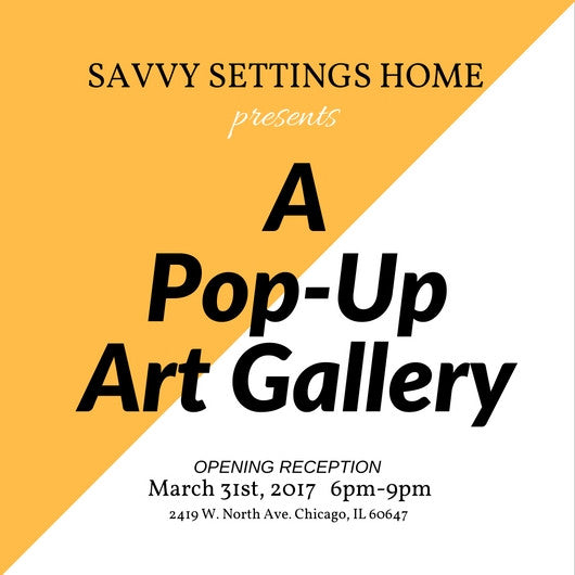 Our First Pop-Up Art Gallery