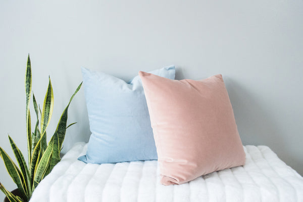 Rose Quartz Accent Pillow