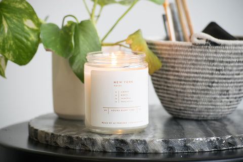 New York Soy Wax Candle
