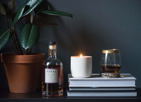 Whiskey + Fig Soy Candle
