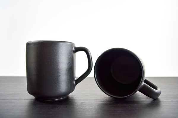 Charlevoix 12 oz. Mug | Dusty Black |