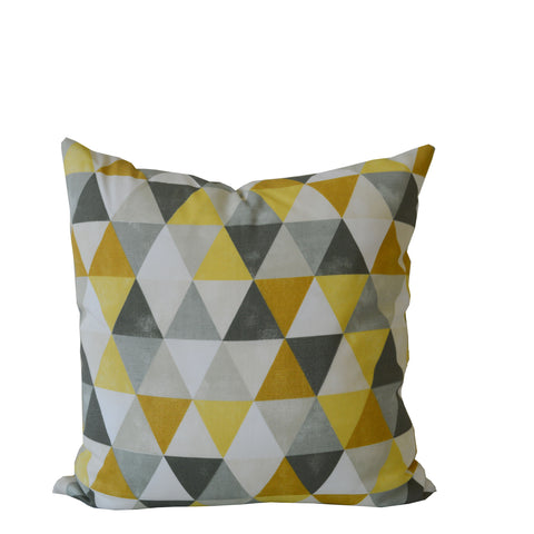 Geometric Accent Pillow