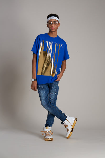 Hustle Brush Foil Tee
