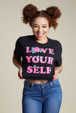 Love Yourself Crop Tee