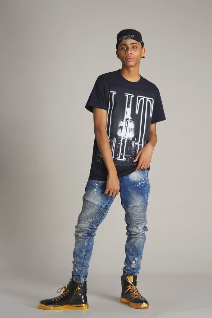 Lit Empire State Short Sleeve Tee