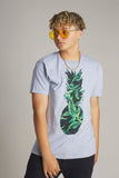 Pineapple Green Palms Short Sleeve Tee