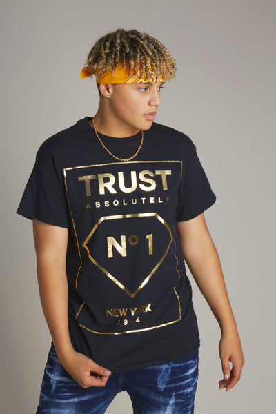Trust No1 Foil Short Sleeve Tee