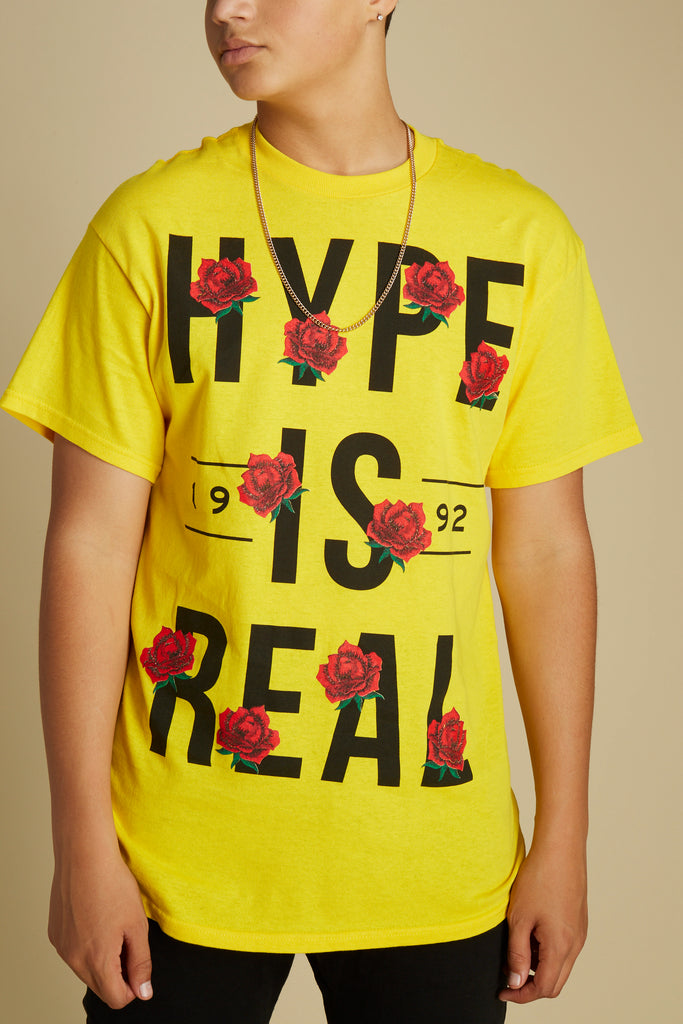 Hype Is Real Short Sleeve Tee