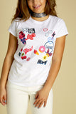 Girl Power Mixed Short Sleeve Tee