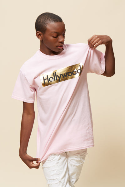 Hollywood Foil Box Short Sleeve Tee