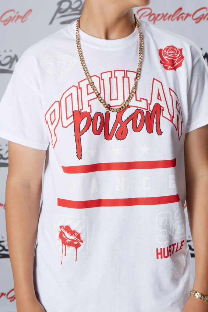 Popular Poison Dance Short Sleeve Tee