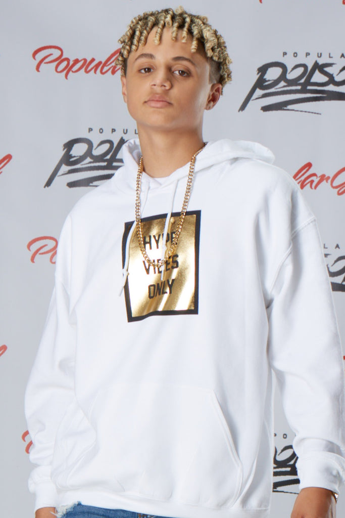 Hype Vibes Only Foil Hoodie