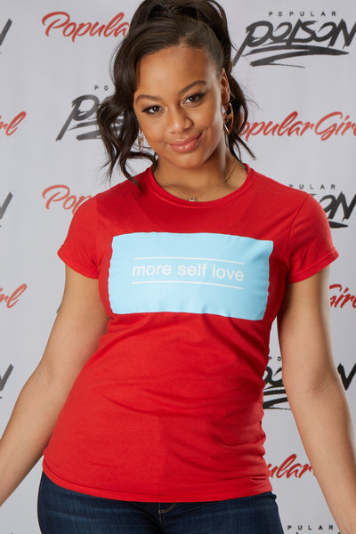 More Self Love Box Short Sleeve Tee