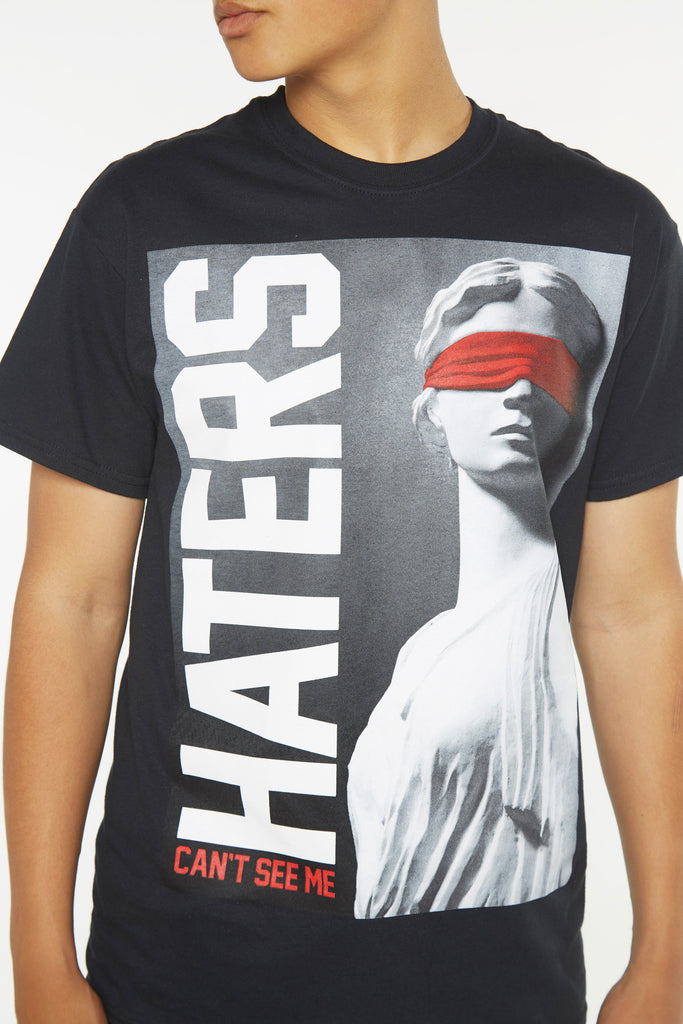 Haters Statue Short Sleeve Tee