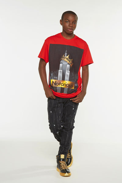 Notorious Crown Short Sleeve Tee