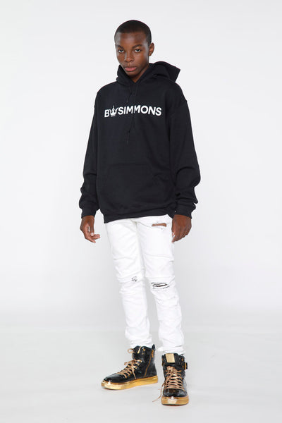 BW Simmons White Crown Logo Hoodie