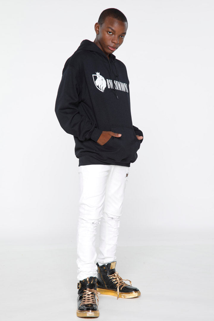 BW Simmons White Lion Logo Hoodie