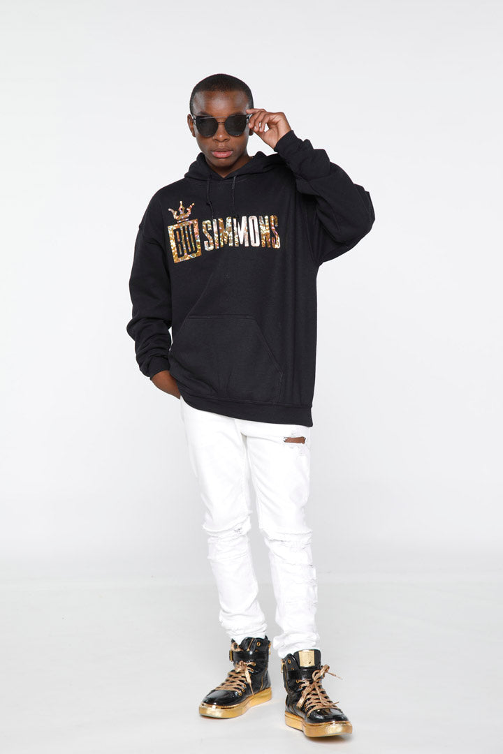 BW Simmons Gold Foil Logo Hoodie
