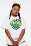Fresh Checkered Crop Tee