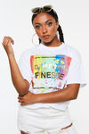 Drippin Finesse Paint Crop Tee