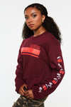 Savage Cherry Crop Long Sleeve