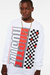 Hustle Crackle Checker Long Sleeve