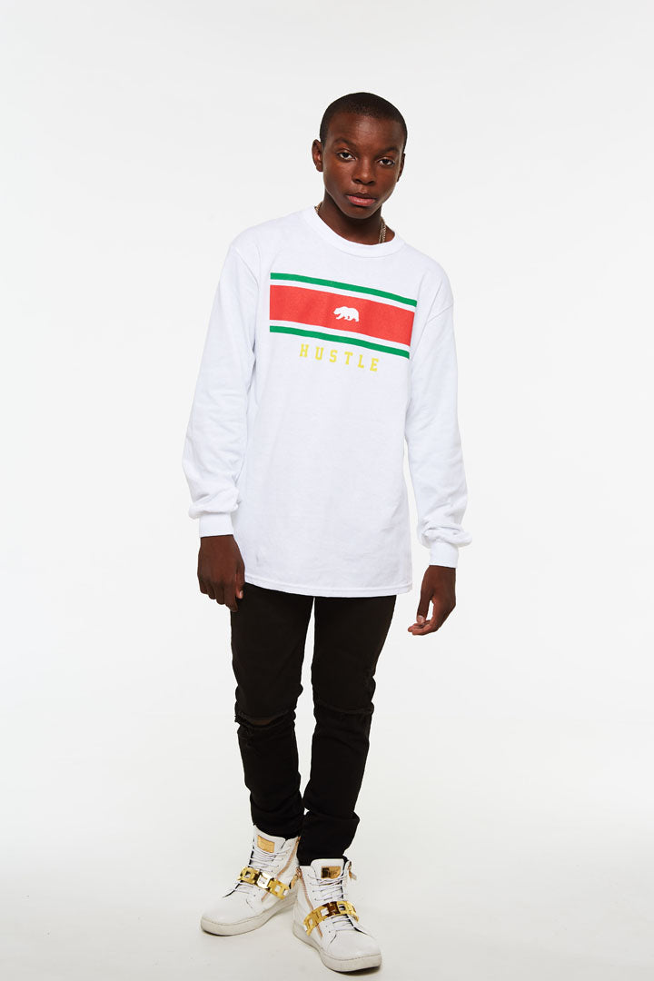Lux Cali Bear Hustle Long Sleeve