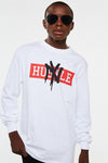 New York Hustle Spray Paint Long Sleeve