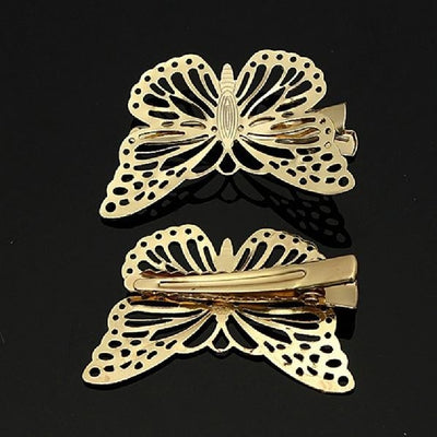 4pc Butterfly Hair Clip