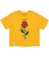 Dangerous Rose Crop Tee (4574163173461)