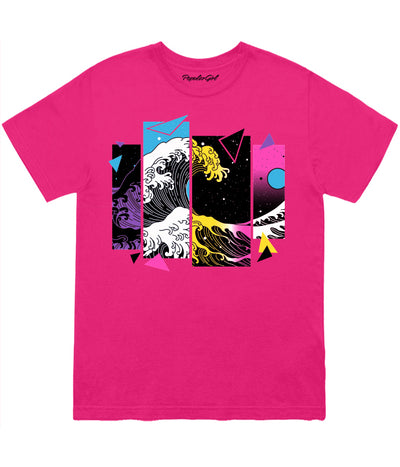 Split Wave Multicolor Geo Tee (4567814897749)