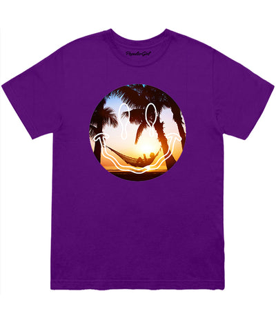 Beach Smiley Tee (4573649010773)