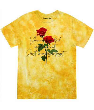 Plus Rose Script Tie Dye Tee (4584746156117)