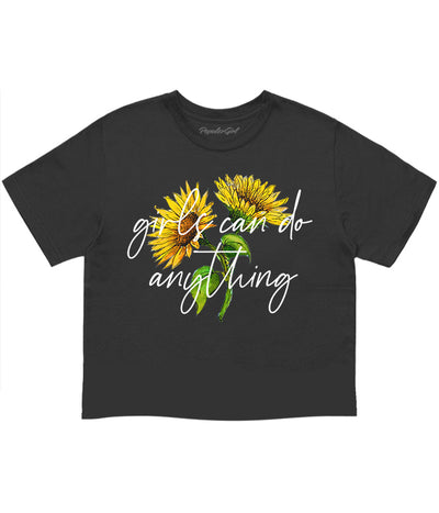 Girls Can Do Anything Crop Tee (4575555354709)