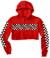 Cherry Checker Crop Hoodie (4574346346581)