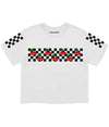 CHERRY CHECKER CROP TEE (4574125031509)