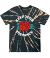KEEP YOUR DISTANCE TIE DYE TEE