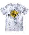 Never Give Up Tie dye Tee