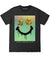PALM TREE DRIP SMILEY SHORT SLEEVE TEE