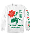 THANKS YOU FOR NOTHING LONG SLEEVE TEE