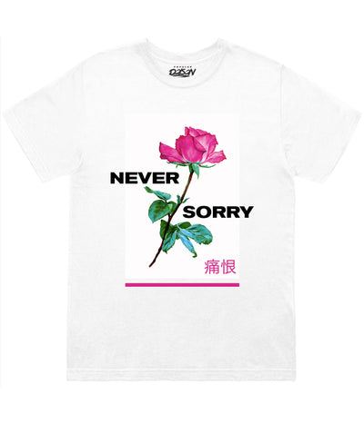 Never Sorry Rose Tee (4577921171541)