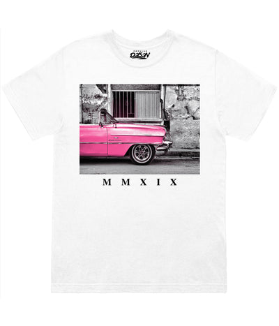 Pink Classic Car Tee (4577924874325)