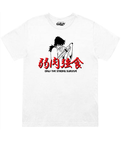 ANIME ONLY STRONG SURVIVE TEE (4579129098325)