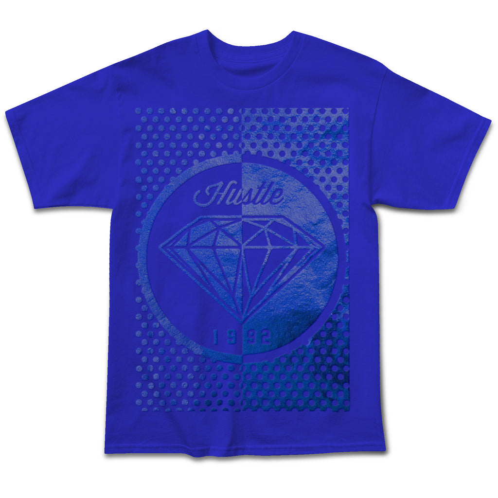 Dot Diamond Tonal Foil Tee